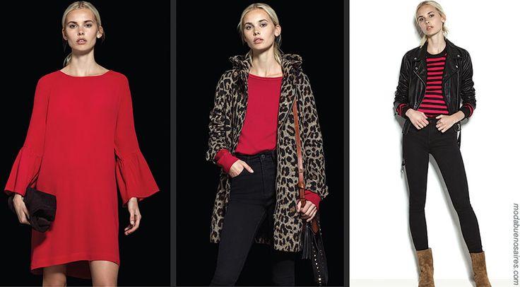 Moda invierno 2017 en ropa de mujer y accesorios by Akiabara. Vestidos, blusas, faldas, tapados, camperas invierno 2017. Moda 2017. Ropa de mujer invierno 2017.