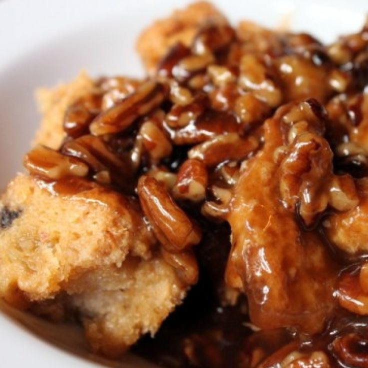 . Caramel Bread and Butter Pudding Recipe from Grandmothers Kitchen.