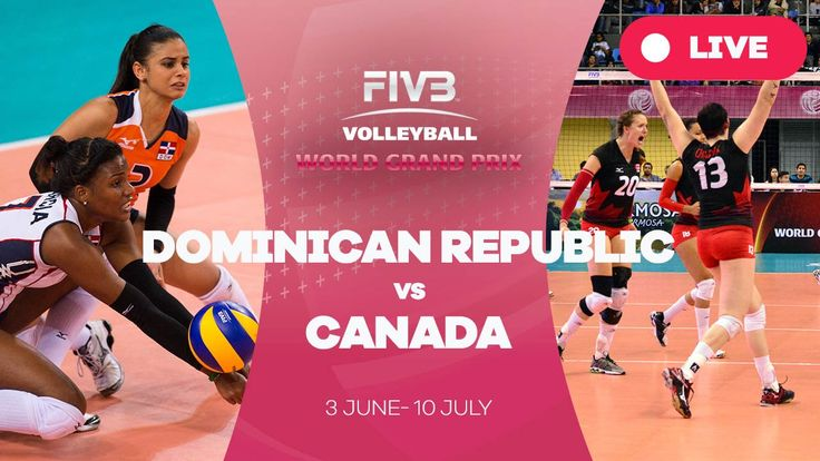 Dominican Republic v Canada - Group 2: 2016 FIVB Volleyball World Grand ...