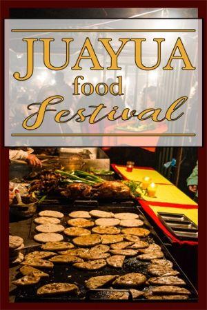 Juayua Food Festival El Salvador Travel Juayua has a food festival every weekend of the year! Check it out!