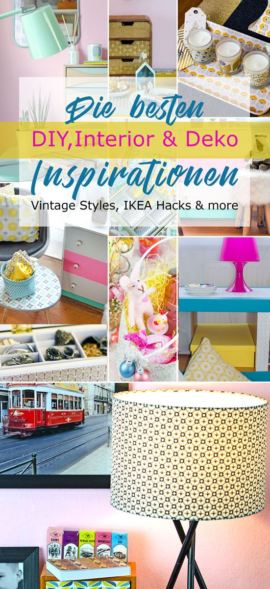 Die besten Interior & Home Decor Inspirations ! Ob IKEA Hack, Vintage oder Scandi Style, Mini Kommoden , Lampen , Aufbewahrung oder Deko - hier gibt es die besten Inspirationen für deine Wohnung , dein Heim oder Haus