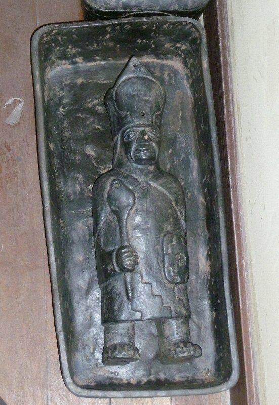 ceramic negra casket