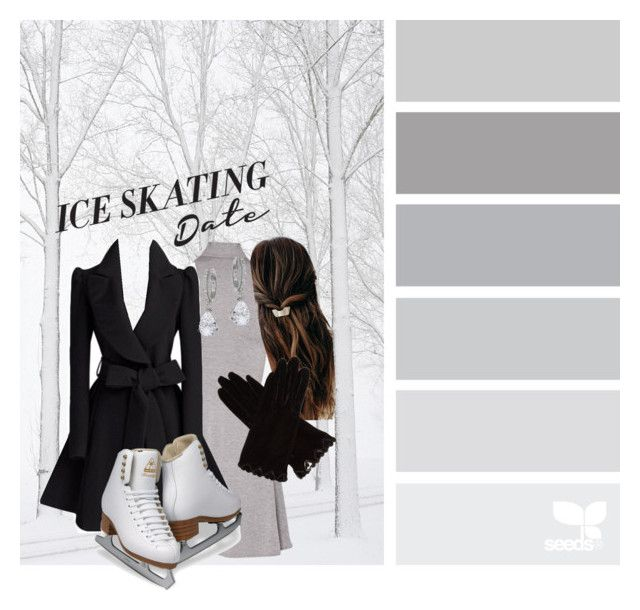 """ice skating date"" by thepenetrator on Polyvore featuring AGNELLE, Kate Spade and iceskatingoutfit"