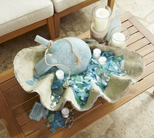 Florida Condo Decorating Ideas: 65 Best Images About Sea Glass Decorating Ideas On