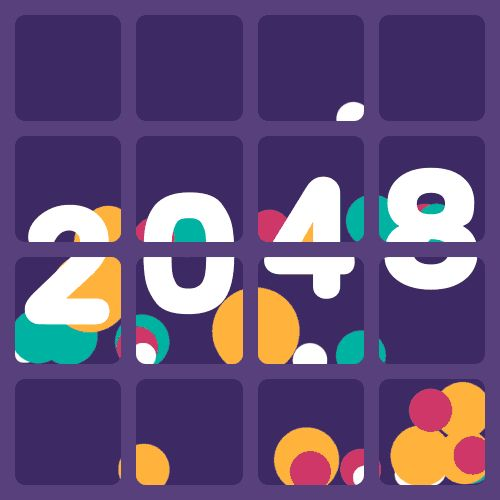 2048 - Animated Edition on Behance | Motion | Graphic | Design | Gifs |