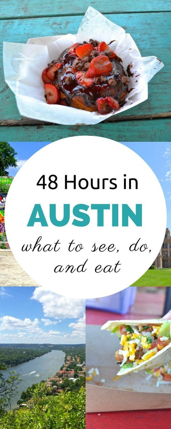 Just booked a flight to Austin, Texas!  This handy guide to 48 hours in Austin will definitely come in handy! #USA #Travel #Roadtrip #Guide #Austin #Texas #Itinerary #See #Do #Eat #Information