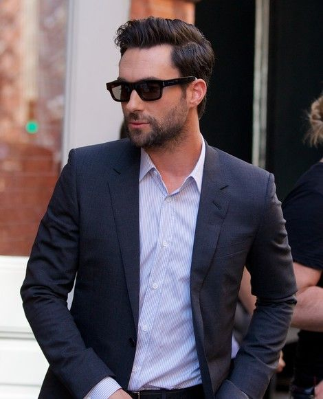 Adam Levine. More beards and moustaches here http://blog.smartbuyglasses.co.uk/fashion-and-trends/movember-the-moustache-makes-the-man.html
