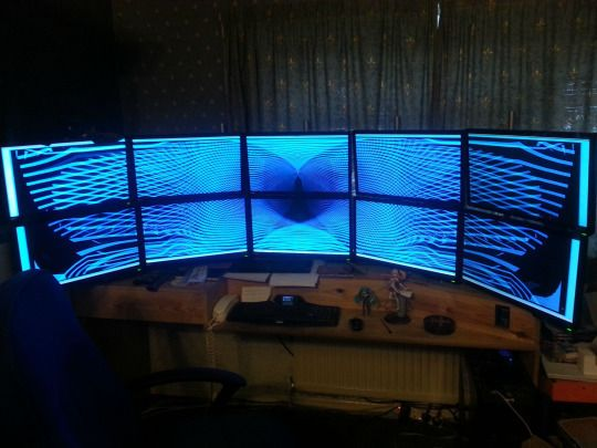 Best Image this setup with widescreen monitors monitor thatmonitorlife desksetup