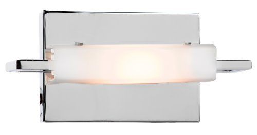 Access Lighting 62251-CH/OPL Styx 1-Light ADA Wall/Vanity Fixture, Chrome Finish with Opal Glass Shade by Access Lighting. $76.50. Access Lighting Wall & Vanity Lighting