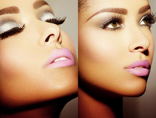 Perfection. #benefitglamLips Colours, Eye Shadows, Brown Eye, Makeup, Beautiful, Pale Pink, Pink Lipsticks, Eyeshadows, Lips Colors