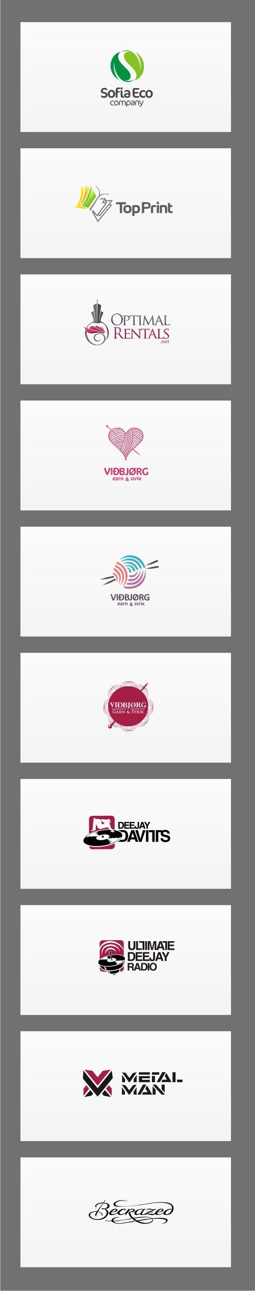 Logos v.2 by Ivan Manolov, via Behance