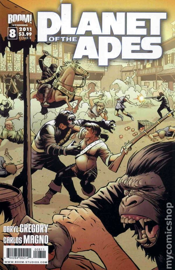 Planet of the Apes (2011 Boom Studios) 8B