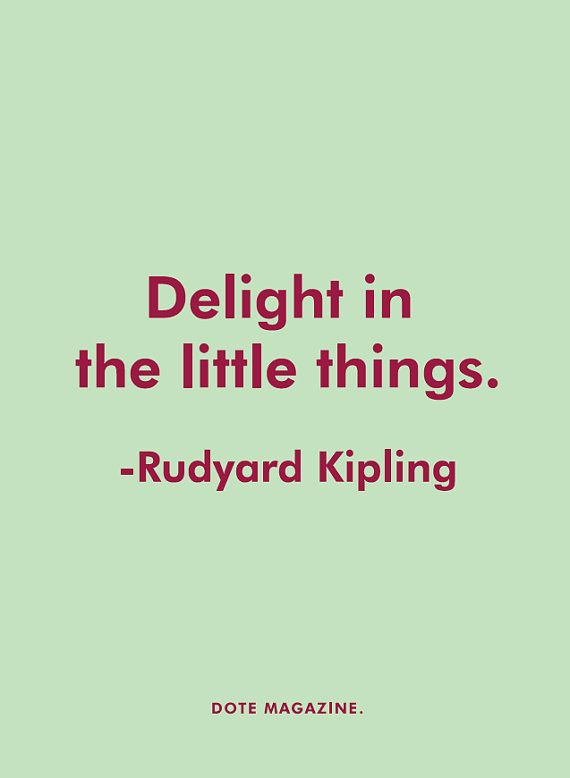 Dote Quote-Rudyard Kipling by DoteMagazine on Etsy