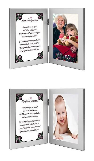 Great Grandmother Gift From Grandchild - Great Grandma Frame with ...