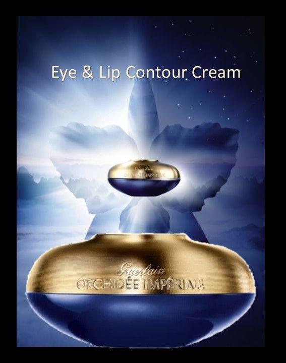Skin Care Eye Lip Contour Anti Aging Cream Guerlain Orchidée Impériale Day Night Application #sponsored #beauty #skincare