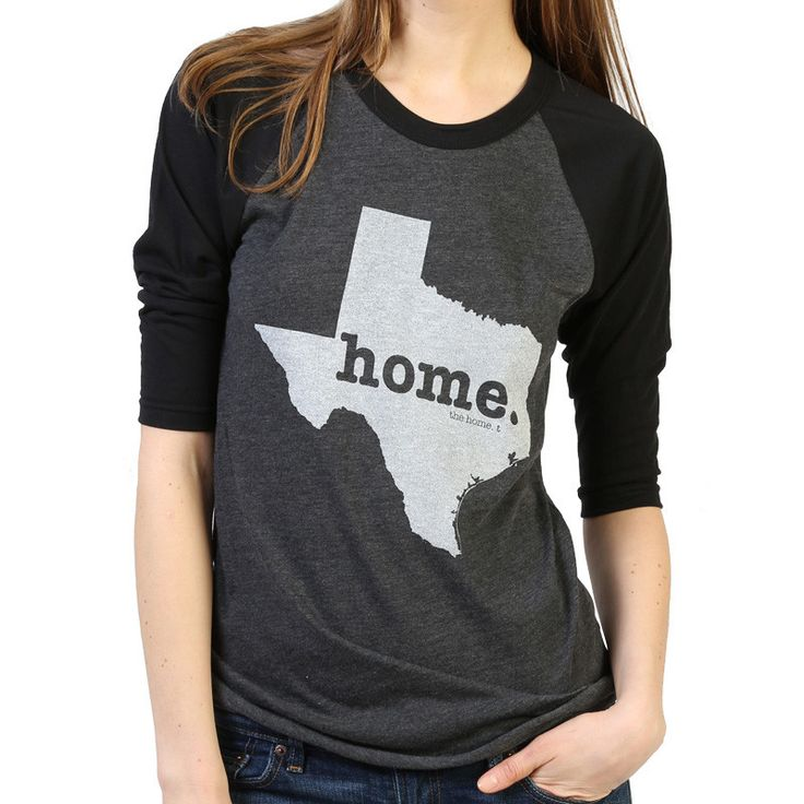 The Texas Home Baseball T (3/4 length sleeve) is insanely soft, a great way to show off your state pride, and helps to raise money for multiple sclerosis research.The Home T products are 100% Made in the USA. We use a special screen printing technique to give the shirts a vintage look and feel.This shirt is great for a variety of weather conditions, but more importantly, you will absolutely love how comfortable it is. The quality is amazing.