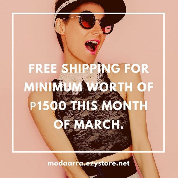 Free Shipping for minimun worth of PhP1,500 for whole month of March 2018. We delivery nationwide. Enjoy a whole new shopping experience with our unique shopping cart.
