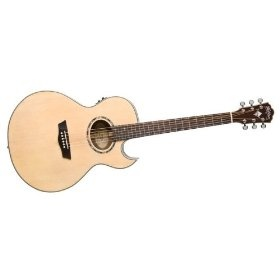 Washburn Nuno Signature Acoustic-Electric Guitar Natural, This is what mine looks like.