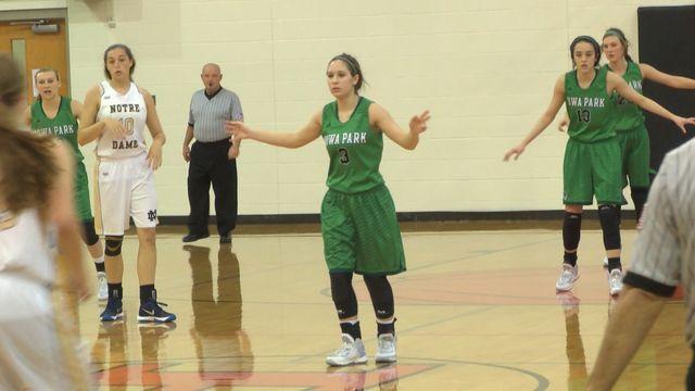 Girls High School Basketball: Notre Dame vs Iowa Park - December 4, 2015