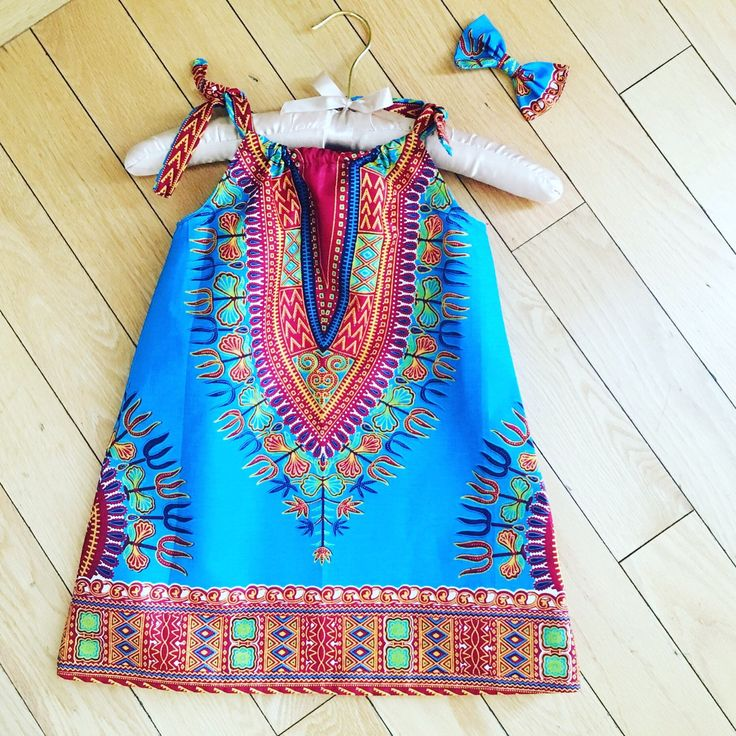 A personal favorite from my Etsy shop https://www.etsy.com/listing/242728499/dashiki-baby-summer-dress
