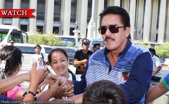 Huwag mag-worry sa pagbaba ng rating ni President Rodrigo Duterte - Senator Tito Sotto
