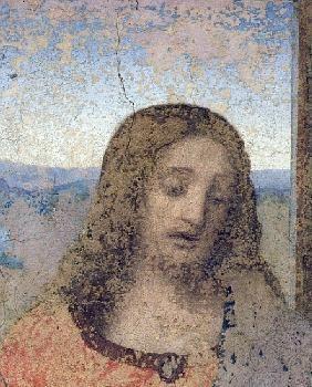 Leonardo da Vinci - The Last Supper, 1495-97 (detail of 161739)