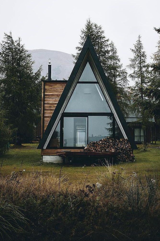 Travel Traveldestionations Traveldestination Inspiration Places Beautifulplaces Love Photography A Frame House Plans Tiny House Cabin Triangle House