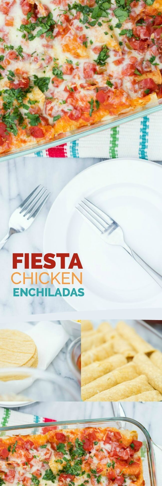 Fiesta Chicken Enchiladas Recipe #MyBestMeal @Publix (ad)