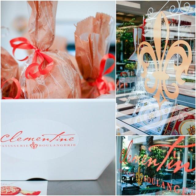 Clementines French & Italian Bakery in Palm Desert, California.
