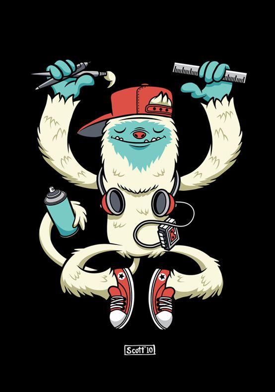 Yeti Art by cronobreaker.deviantart.com on @deviantART