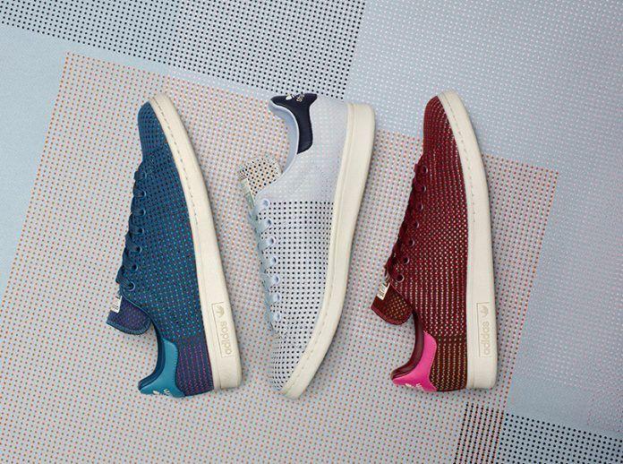 Immaculate textured Kvadrat fabrics transform the Stan Smith for adidas Originals