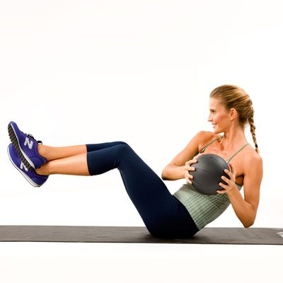 Love handles. Muffin top. Whatever you call them, this Oblique Crunch will make them DISAPEAR | health.com
