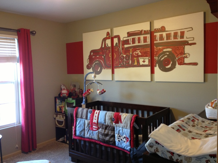 65 Best Baby Sprout S Nursery Images On Pinterest Fire Truck