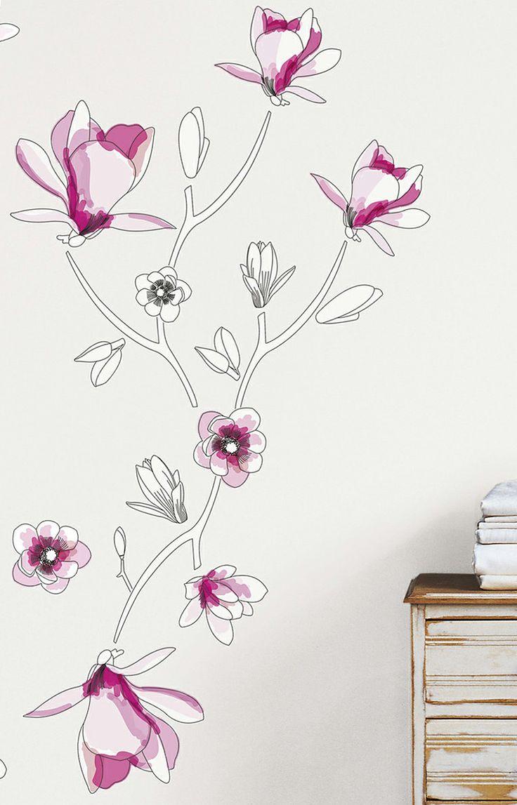 Magnolia Wall Decal Set