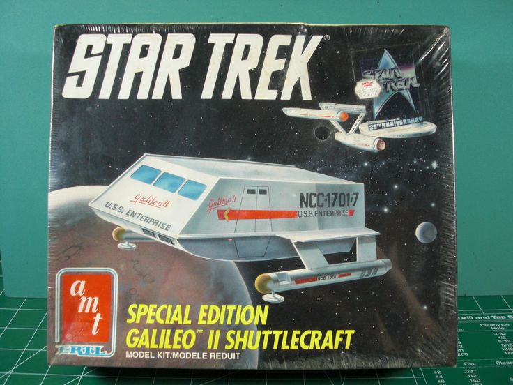Star Trek 49211: Star Trek*Special Edition Galileo Ii Shuttlcraft*Amt Ertl*Kit#6006*Sealed*L@@K -> BUY IT NOW ONLY: $49.99 on eBay!