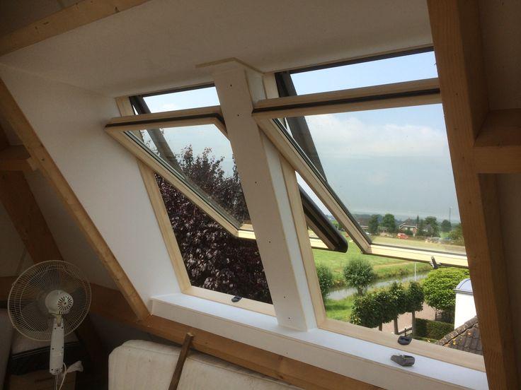 De Roto ERA dakraam uitbouwen, vanaf 45 graden beter toe te passen als een dakkapel... Bezoek www.DAKDIDAK.nl