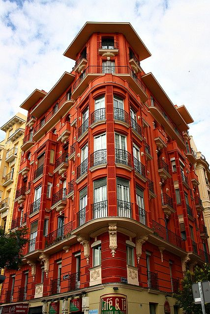 Casa de la Plaza Manuel Becerra. Madrid   Flickr: Intercambio de fotos