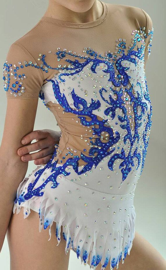 Beautiful designer rhythmic gymnastics leotard от artmaisternia