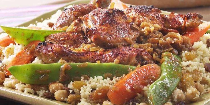 Afrikansk kylling Yassa - På alle verdens matbord finner vi kylling og kyllingretter. Kylling er tillatt i alle kulturer og religioner. Her er en oppskrift fra Afrika.