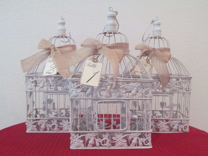 50 best Bird cage wedding card holders images on Pinterest ...