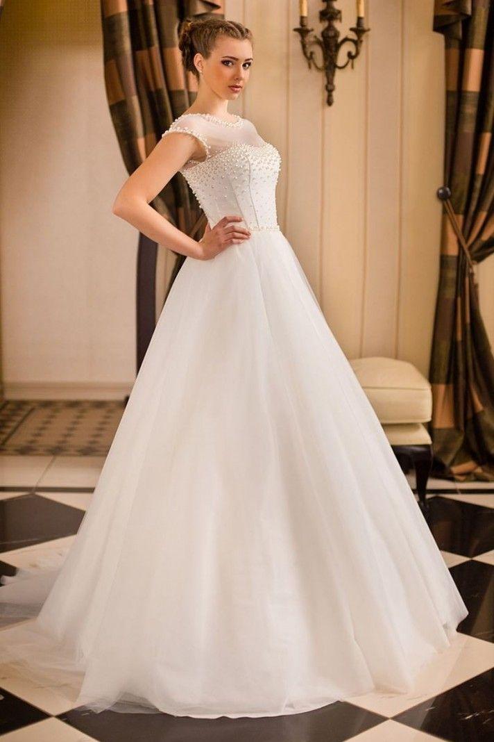 1000 idee su Abiti Da Sposa Con Perline su Pinterest  Abiti da sposa ...