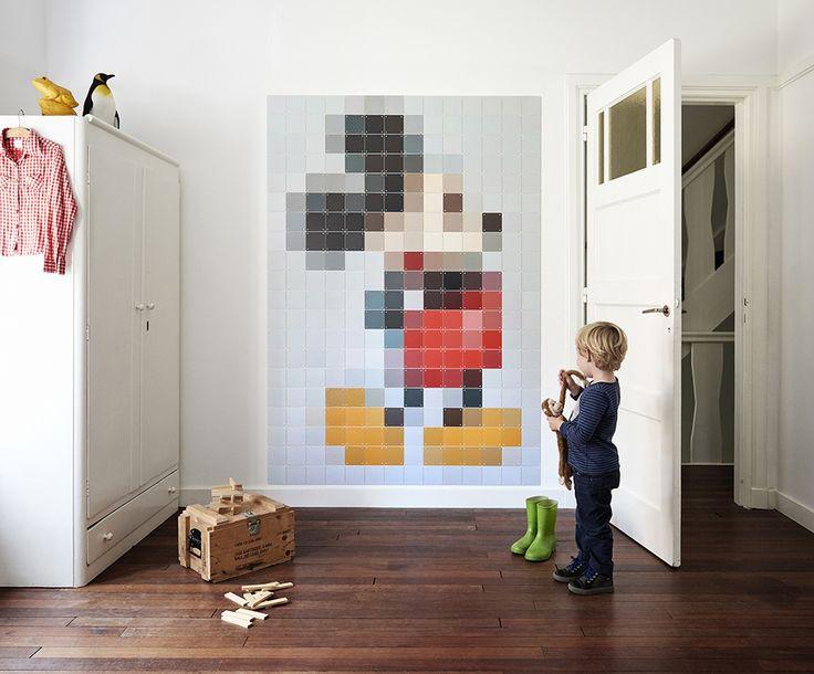 Bring some sparkle into your kids' room with Disney's famous mouse! #Disney #IXXI #ixxiyourworld #disneybyixxi #home #inspiration #MickeyMouse
