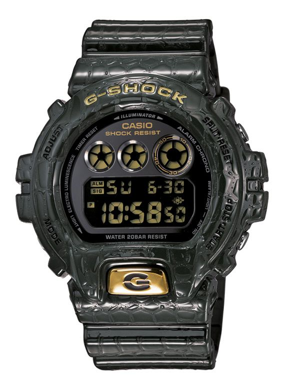 Casio G-Shock DW6900CR Watch - Crocodile Textured Collection | FreshnessMag.com