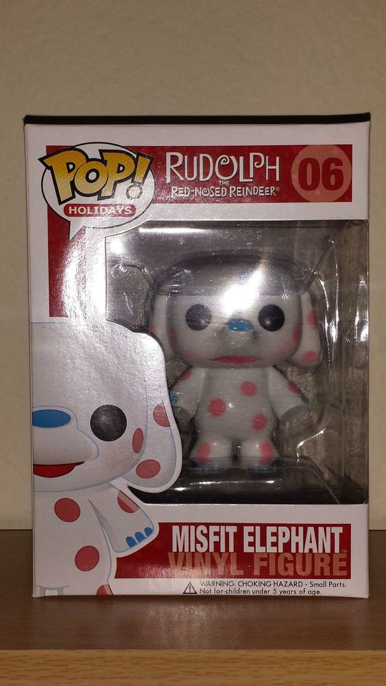 Misfit Elephant Rudolph Red Nosed Reindeer Funko Pop Vinyl Figure