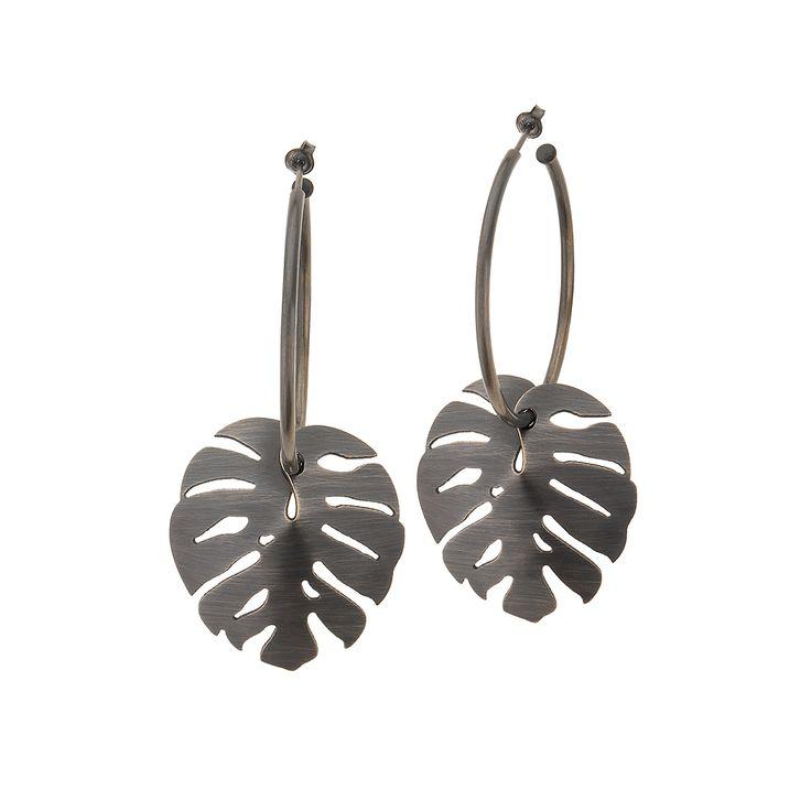 Kolczyki | Insekty IK28-6 | ORSKA - ręcznie wykonana, unikatowa biżuteria. Autorskie i artystyczne projekty Anny Orskiej