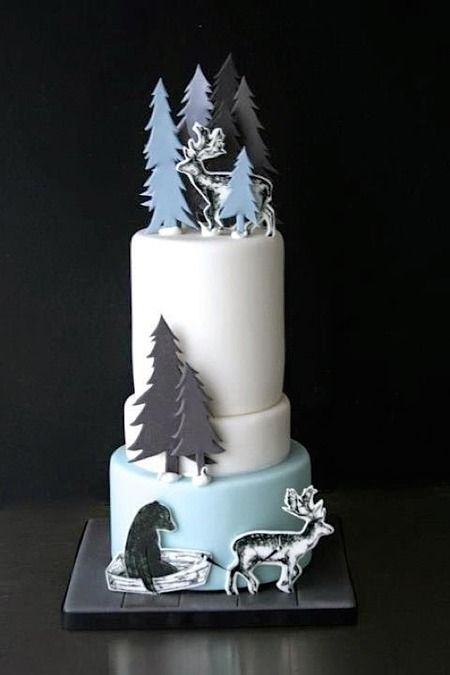 By:  Sugarplum Cake Shop.  Cake Wrecks - Home - The Cold Never Bothered Sunday Sweets,Anyway