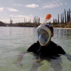 Masque de Surface Easybreath Bleu TRIBORD - Masques et tubas Plongée - Decathlon