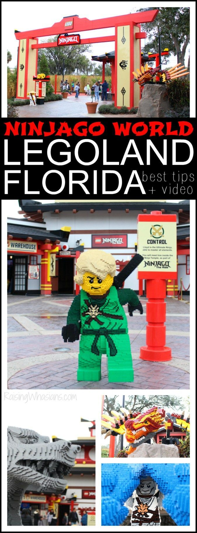 5 Tips for Exploring Ninjago World at LEGOLAND Florida with your family + Video Review - Raising Whasians (AD)