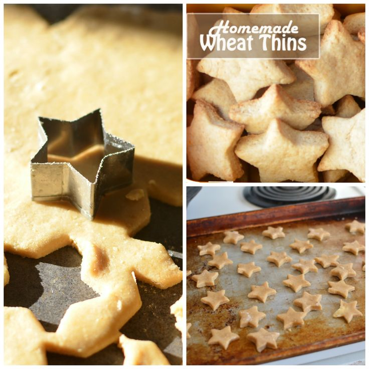 Have you ever tried making your own crackers? We love making these Homemade wheat thins!
