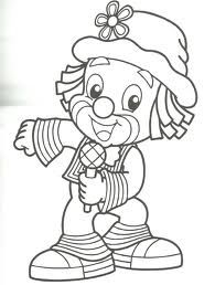 Mini Clown Coloring Pages Free: Mini Clown Coloring Pages Free
